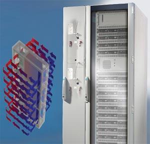 Рисунок 1. Пример охлаждения сервера на жидкостной основе
