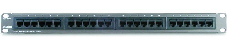 D-Link DES-6506 Вид спереди