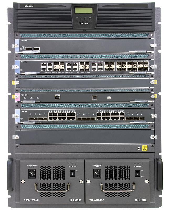 D-Link DES-7206-Base Изображение