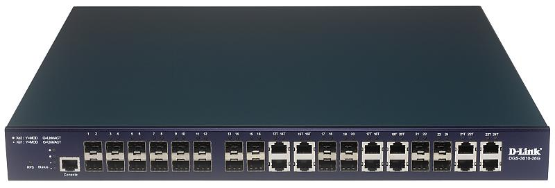 D-Link DGS-3610-26G Изображение