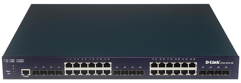 D-Link DGS-3610-26 Изображение