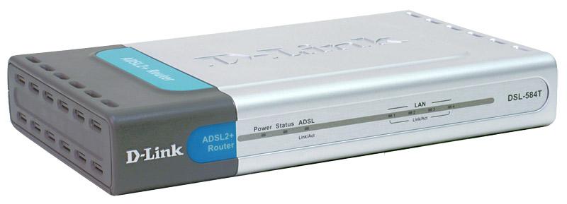D-Link DSL-584T Изображение