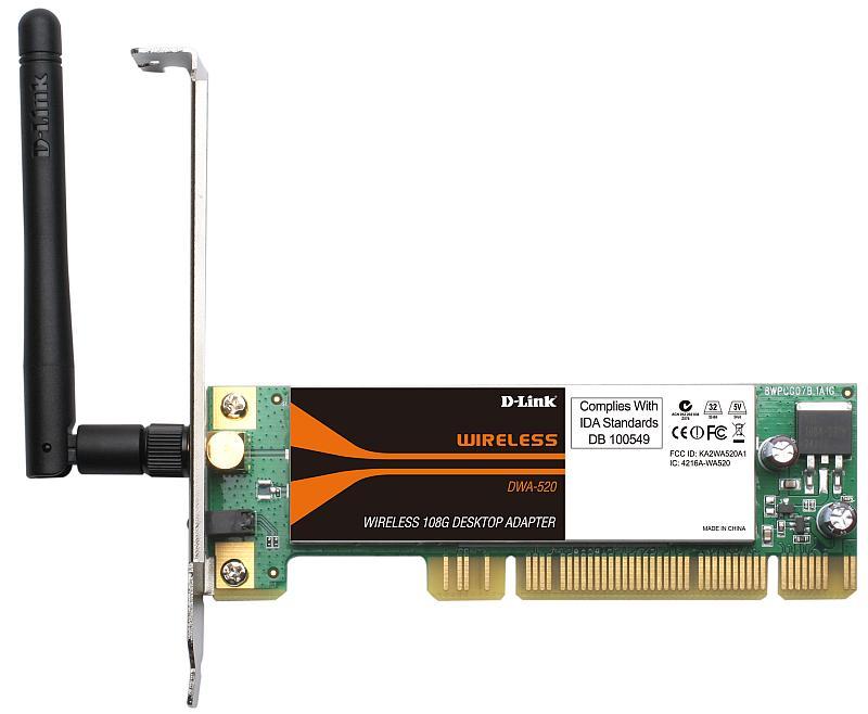 D-Link DWA-520 Изображение