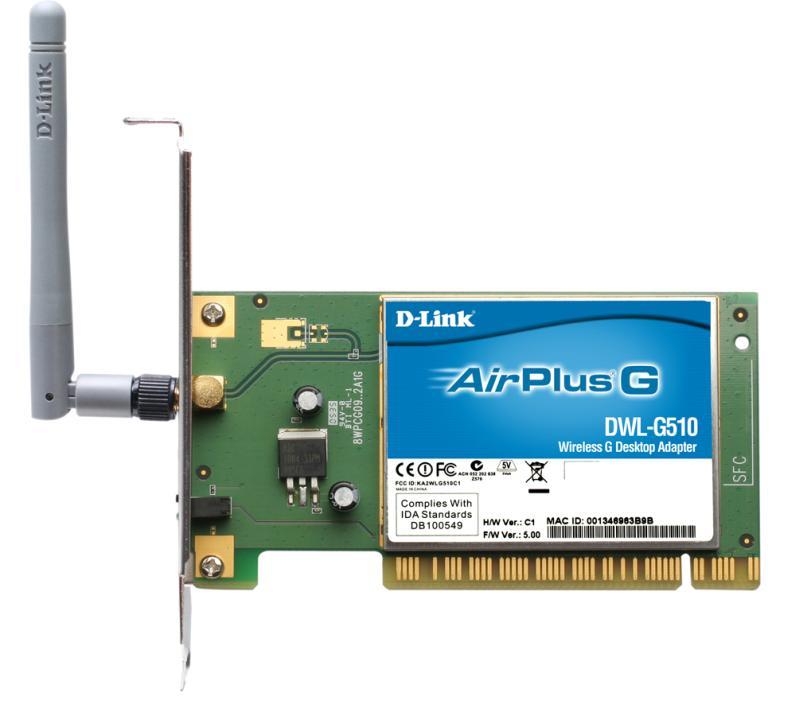 D-Link DWL-G510 Изображение